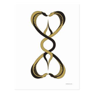 Cobra Hearts Postcard