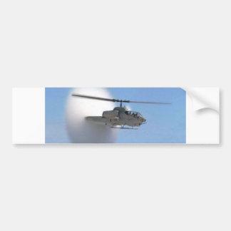 cobra helicopter bumper sticker