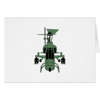 Cobra Helicopter Card