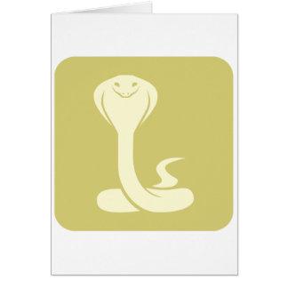 Cobra Logo Cards