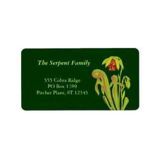 Cobra Plant Address Labels