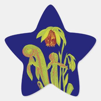 Cobra Plant, Carnivorous Plant Star Sticker