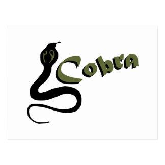 Cobra Postcard
