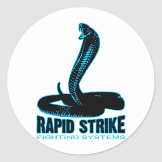 Cobra - rapid strike classic round sticker