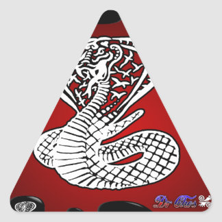 COBRA RED BACKGROUND PRODUCTS STICKER