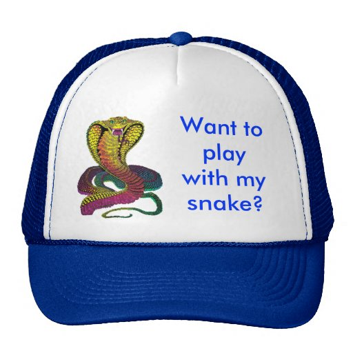 Cobra Snake Mesh Hat