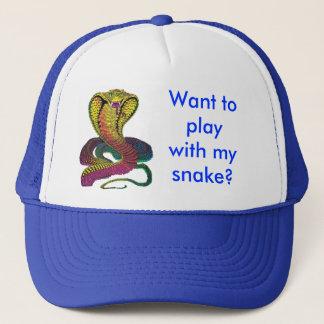 Cobra Snake Trucker Hat