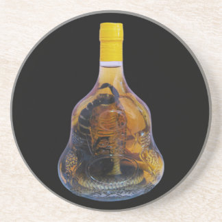 Cobra Snake Vs Scorpion Whiskey ... Yadong Lao Sandstone Coaster