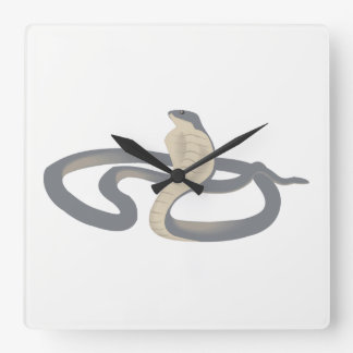 Cobra Square Wall Clock