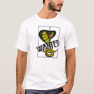 Cobra Wanted Poster T-Shirt