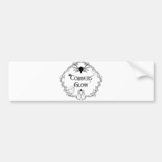 Cobwebs Glow Bumper Sticker