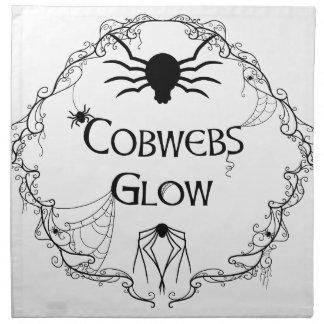 Cobwebs Glow Napkin