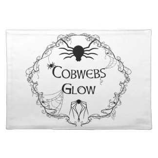 Cobwebs Glow Placemat