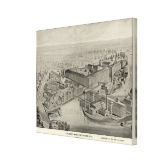 Cocheco Mfg Co Gallery Wrapped Canvas