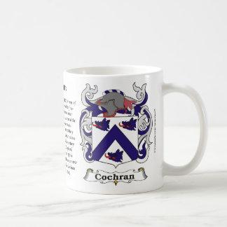 Cochran Family Coat of Arms Mug