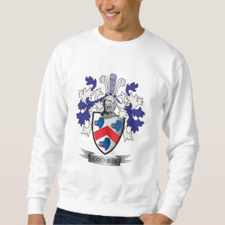 Cochran Family Crest Coat of Arms Sweatshirt