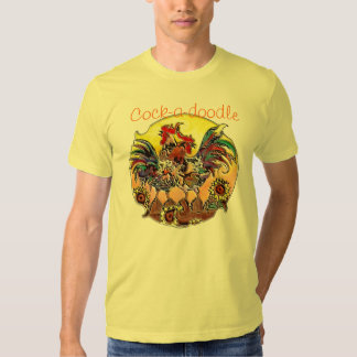 Cock-a-doodle by SHARON SHARPE Shirt
