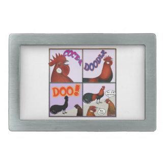 Cock-A-Doodle-Doo! Belt Buckle