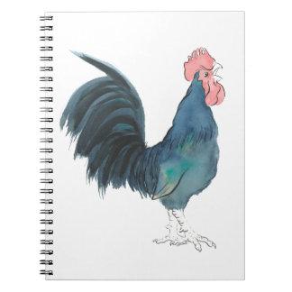 Cock-a-doodle-doo Cockerel Notebook