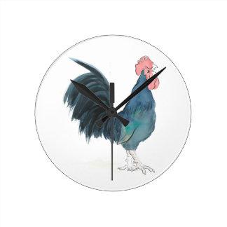 Cock-a-doodle-doo Cockerel Wallclocks