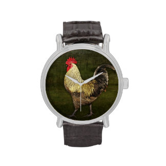 Cock-a-doodle-doo Wristwatches