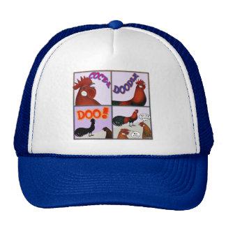 Cock-A-Doodle-Doo! Mesh Hats