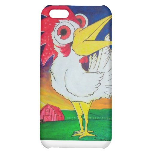Cock-A-Doodle-Doo iPhone 5C Case