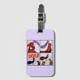 Cock-A-Doodle-Doo! Luggage Tag