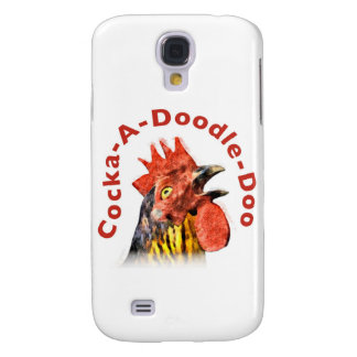 Cock-A-Doodle-Doo Rooster Samsung Galaxy S4 Case