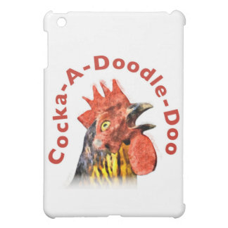 Cock-A-Doodle-Doo Rooster Cover For The iPad Mini