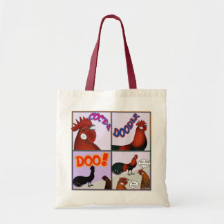 Cock-A-Doodle-Doo! Tote Bag