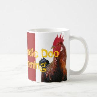 Cock-a-Doodle-DooGood Morning mug
