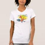 Cock-a-Doodle Oops! women's tshirt