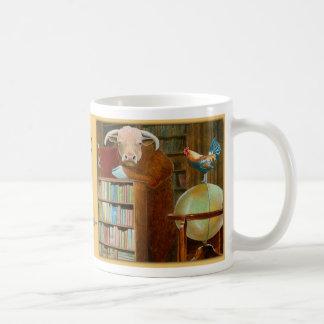 """""""cock and bull story..."""" coffee mug"""