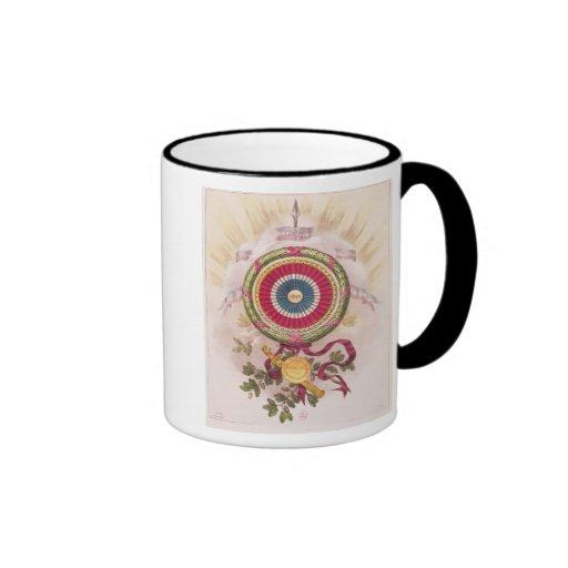 Cockade, emblem of 1848 coffee mug