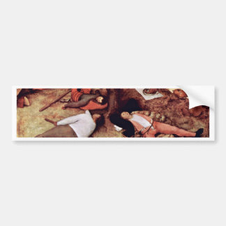 Cockaigne By Bruegel D. Ä. Pieter (Best Quality) Bumper Stickers