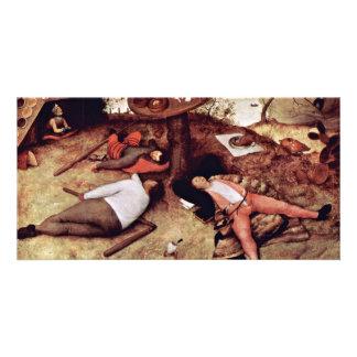 Cockaigne By Bruegel D. Ä. Pieter (Best Quality) Photo Greeting Card
