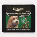 Cockapoo Brand – Organic Coffee Company Mouse Pad