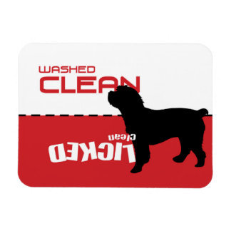 Cockapoo Dog Dishwasher Magnet - Licked Clean