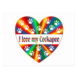 Cockapoo Love Postcard