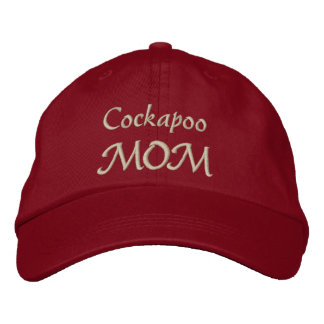 Cockapoo Mom Gifts Embroidered Hat