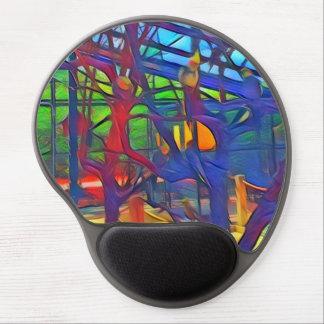 Cockatiel Birds In Color Gel Mouse Pad
