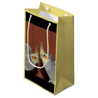 Cockatiel Duo Gift Bag