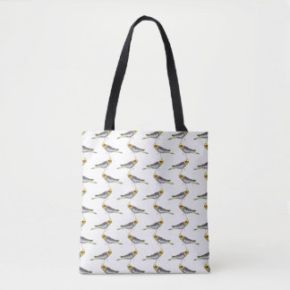 Cockatiel Frenzy All Over Print Bag (choose colour