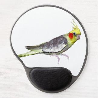 Cockatiel Gel Mousemat (choose colour) Gel Mouse Pad