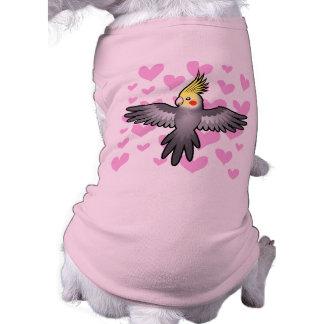Cockatiel Love Sleeveless Dog Shirt