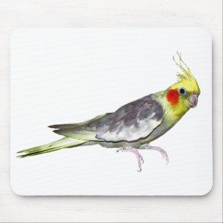 Cockatiel Mousemat (choose colour)