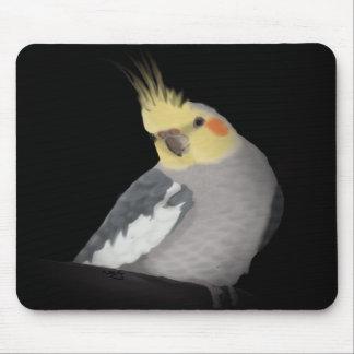 Cockatiel Mousepad (Portriat)