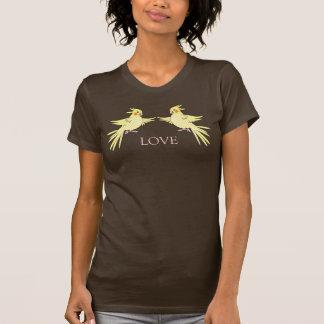 Cockatiels Duo Bird Love T-shirt