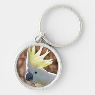 Cockatoo Bird Peace Love Destiny Gifts Key Ring